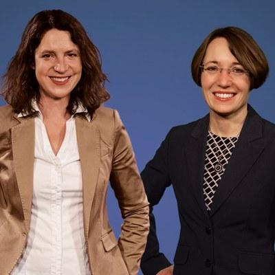 Portraitbild von Frau Prof. Dr. Kretzschmar & Frau Prof. Dr. Sehl