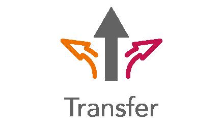 Abbildung/Icon für den Wissens- und Technologietransfer des dtec.bw